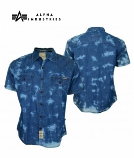Сорочка Batik blue