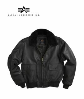 Куртка G-1 Leather Jacket Black XL