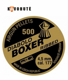 Кульки Diabolo Boxer Ribbed 4.5 мм. 0.64 г.