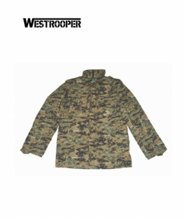 Куртка Westrooper M65 Military Jacket Woodland Digital