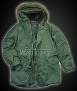 Парка Westrooper US N3B Olive